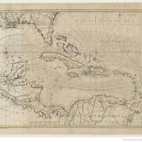 Carte du Golphe du Mexique et des Isles Antilles, réduite de la grande carte anglaise de Popple